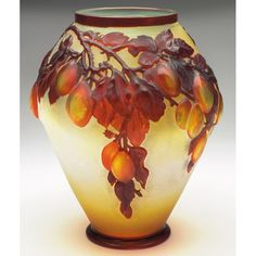 Galle vase, cameo decoration, cameo signature