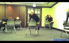R5 Chair Dance (From R5 TV Magnificent Mile) There so cute!!!! I love them!! love this. so funny!
