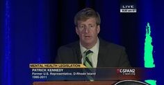 Representative Patrick Kennedy (D-RI) and other mental health advocates offer opening remarks for the National Alliance on Mental Illness's 2014 annual national convention being held in Washington,…