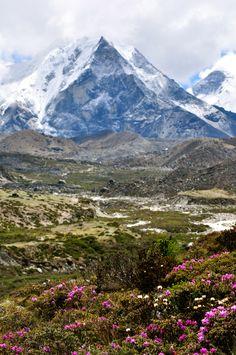 Island peak, Nepal.