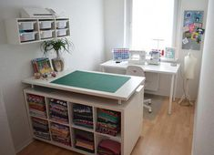 Lillestoff Lillestoff The post Lillestoff appeared first on Arbeitszimmer Diy. - Lillestoff Lillestoff The post Lillestoff appeared first on Arbeitszimmer Diy. Ikea Organisation, Sewing Room Organization, Small Sewing Rooms, Sewing Spaces, Sewing Room Design, Craft Room Design, Sewing Studio, Craft Room Storage, Sewing Room Storage