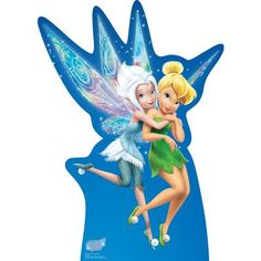 Advanced Graphics Tinker Bell and Periwinkle - Secret of the Wings Cardboard Standup