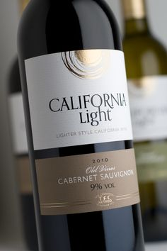 California Light – range design for reduced alcohol wines from TFC