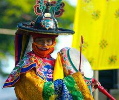 The cham dance (Tibetan and Dzongkha: འཆམ་; Wylie: 'cham),
