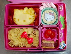 Hello Kitty Bento Lunch Laptop Lunches