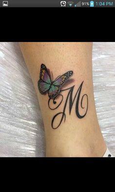 Initial Tattoo – Tattoo's World! Home Tattoo, Phönix Tattoo, Tattoo Side, Ring Tattoo Designs, Octopus Tattoo Design, Mini Tattoos, Small Tattoos, Initial Tattoo, Tattoo Initials