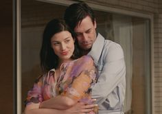 Mad Men Season 7 Episode Photos  Megan Draper (Jessica Paré) and Don Draper (Jon Hamm) in Episode 6