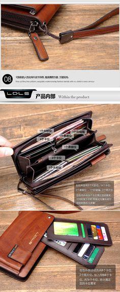 Male clutch genuine leather day clutch commercial clutch bag cowhide wallets multi card holder hand envelope cowhide man bag-inWallets from Luggage & Bags on Aliexpress.com | Alibaba Group-SR
