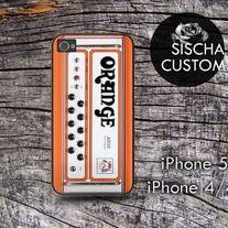 Orange Amplifier - iPhone Case 4/4s/or 5. Samsung Galaxy s3/s4