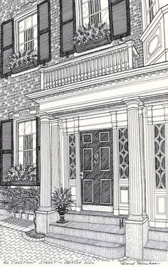 by David Hinchen Design (https://www.etsy.com/listing/27852362/original-house-portrait-custom-pen-and?ref=exp_listing)