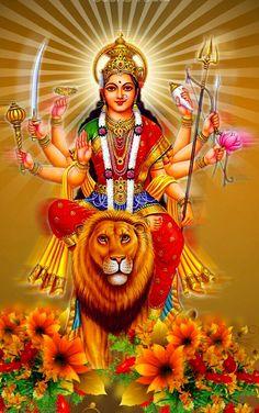 🕉️ Durgatey Nashanye Mahamaye Swaha: 🌹🙏Jai Durga Jai Bhagwati🙏🌹
