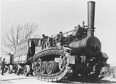 Hornsby steam crawler.