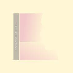 Conosciamo gli #artisti: Alessandro D'Aquila. L'#artista crea delle semplici forme di colore con frasi in linguaggio braille, come se fossero immagini descritte ad un non vedente.  Qui il link per sapere di più su Alessandro: http://www.mostra-mi.it/main/?p=3576