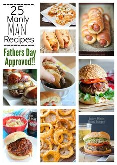 Fathers Day Approved Recipes