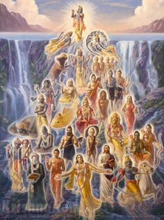 THERE ARE INUMERABLE INCARNATIONS OF GOD