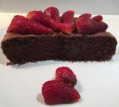 Lindt Chocolate Polenta Cake