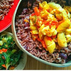 OMG I'm really craving rice and peas with ackee today but I have run out of…