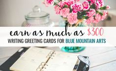 How to get paid for writing greeting cards art cards and mountain art earn up to 300 writing greeting cards for blue mountain m4hsunfo