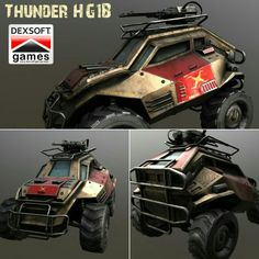 Futuristic vehicle model with polygons, 4 texture files and animation-ready parts Futuristic Cars, Monster Trucks, Animation, Texture, Games, Vehicles, Board, Model, Surface Finish