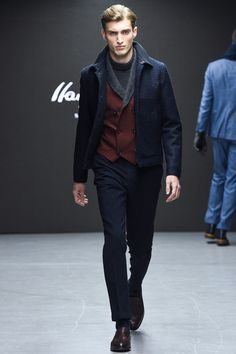 Hardy Amies Fall 2015 Menswear Collection - Vogue