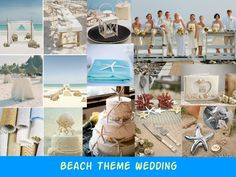 beach theme weddings | Beach Themed Wedding Ideas