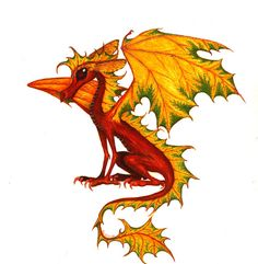 Google Image Result for http://fc04.deviantart.net/fs23/i/2008/045/6/5/Maple_Leaf_Dragon_by_sladeside.jpg