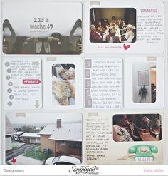 Project Life Januar Kit {Lebens}Jahr der Scrapbook Werkstatt - PL Woche von Katja Müller
