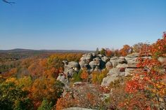 Explore the inspiring rock formations, cliffs and trails of the most visited site in the Shawnee National Forest. Garden of the Gods provides spectacular views unlike anywhere in the Midwest.