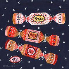 10 Editorial Illustration For Mollie Makes Ideas Christmas Mood, Noel Christmas, Christmas Countdown, Christmas Design, Vintage Christmas, Christmas Crafts, Christmas Decorations, Christmas Cookies, Editorial Illustration