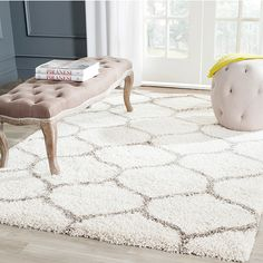 Tufted Area Rug - A Collection by Anglina - Favorave