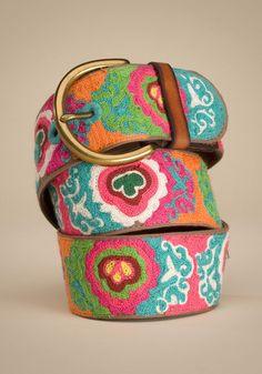 Lucky Brand belt! So cute