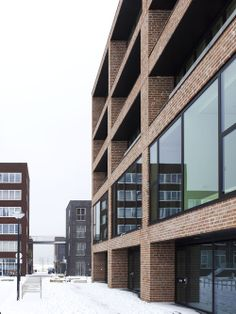 Solid18 IJburg, Amsterdam (The Netherlands) | Claus en Kaan Architecten | Archinect