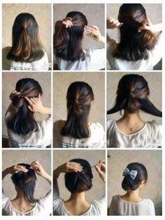 Stupendous Shoulder Length Hair Updo Tutorial Short Hairstyles For Black Women Fulllsitofus