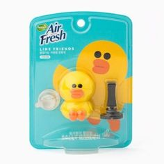 Naver Line Friends Character Home Car Vent Clip Air Freshener Garden Scent Sally…