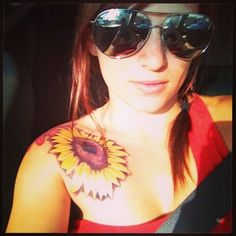 Sunflower tattoo Sunflower tattoo | tattoos picture sunflower tattoo