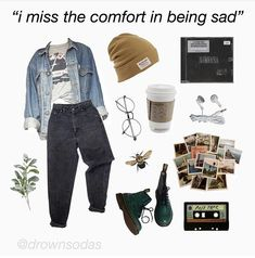 Grunge Outfits – Page 5982284430 – Lady Dress Designs Grunge Outfits, Retro Outfits, Cute Casual Outfits, Vintage Outfits, Edgy School Outfits, Fashion Mode, Aesthetic Fashion, Aesthetic Clothes, Fashion Outfits