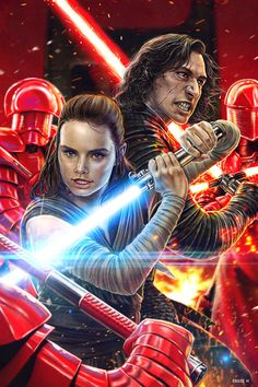 Reylo - Kill it if you have to by EddieHolly.deviantart.com on @DeviantArt