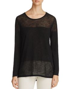 Avec Crossover Back Sweater | Bloomingdale's