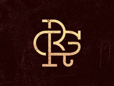 RG monogram by Denis Z