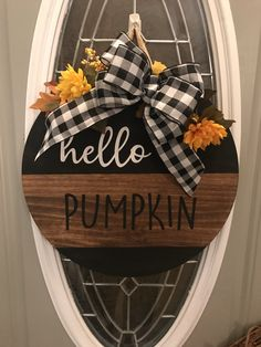 Excited to share this item from my shop: Distressed Farmhouse decor FALL Door Hanger Wreath Door Decor Gallery Wall Decor Happy Fall HEllo Pumpkin Wreath Halloween Door Hangers, Fall Door Hangers, Halloween Signs, Halloween Ideas, Happy Halloween, Fall Door Decorations, Outdoor Fall Decorations, Fall Door Wreaths, Thanksgiving Decorations