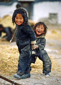 tibet kids playing - Google Search