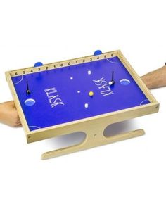 Looking for a new board game that the family can play? Try The Klask Board Game! Sort of a mix of foosball, air hockey and awesomeness, all in one!