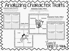 Charlotte's Web Character Traits