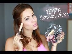 TOP 5 | Os Melhores Corretivos | Juliana Goes | Dicas de Beleza, Saúde e Lifestyle.