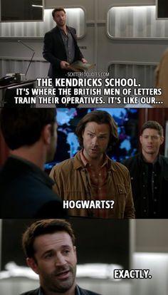 Hogwarts? #supernatural