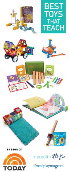 A few AWESOME toys I shared on @Teresa Selberg O'Day this week. Great ideas for gifts for kids that aren't your own. Something they'll love AND they'll learn from. #toys #gifts #education