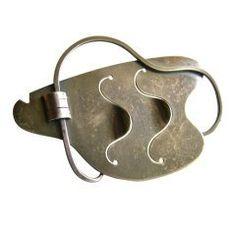 Paul Lobel Free-Form Sterling Silver Brooch