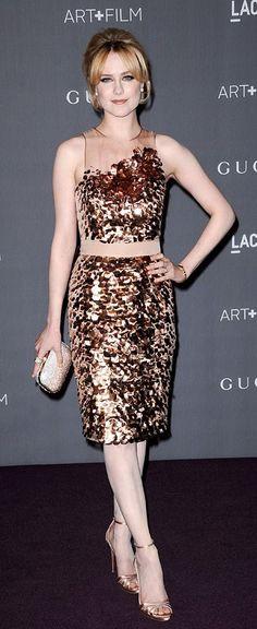 Evan Rachel Wood in Gucci