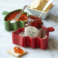 Just add cream cheese for a great holiday appetizer served in a cute Christmas tree shaped ramekin