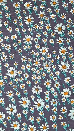 Summer Flowers Pattern #iPhone #5s #wallpaper
